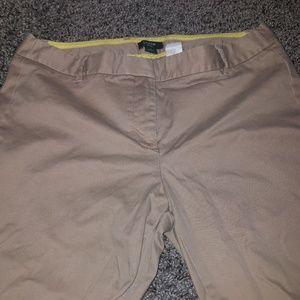 J. Crew khaki pants size 4